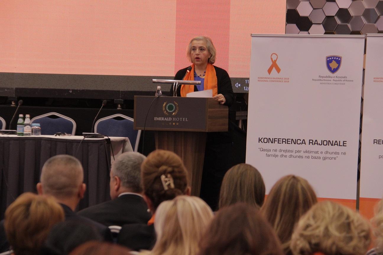 Fjalimi i Shefes së Misionit EULEX në Konferencën Rajonale kundër dhunës në baza gjinore