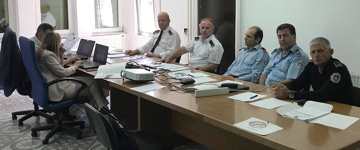 EULEX organizes a prison security workshop at the Peja/Peć Detention Centre