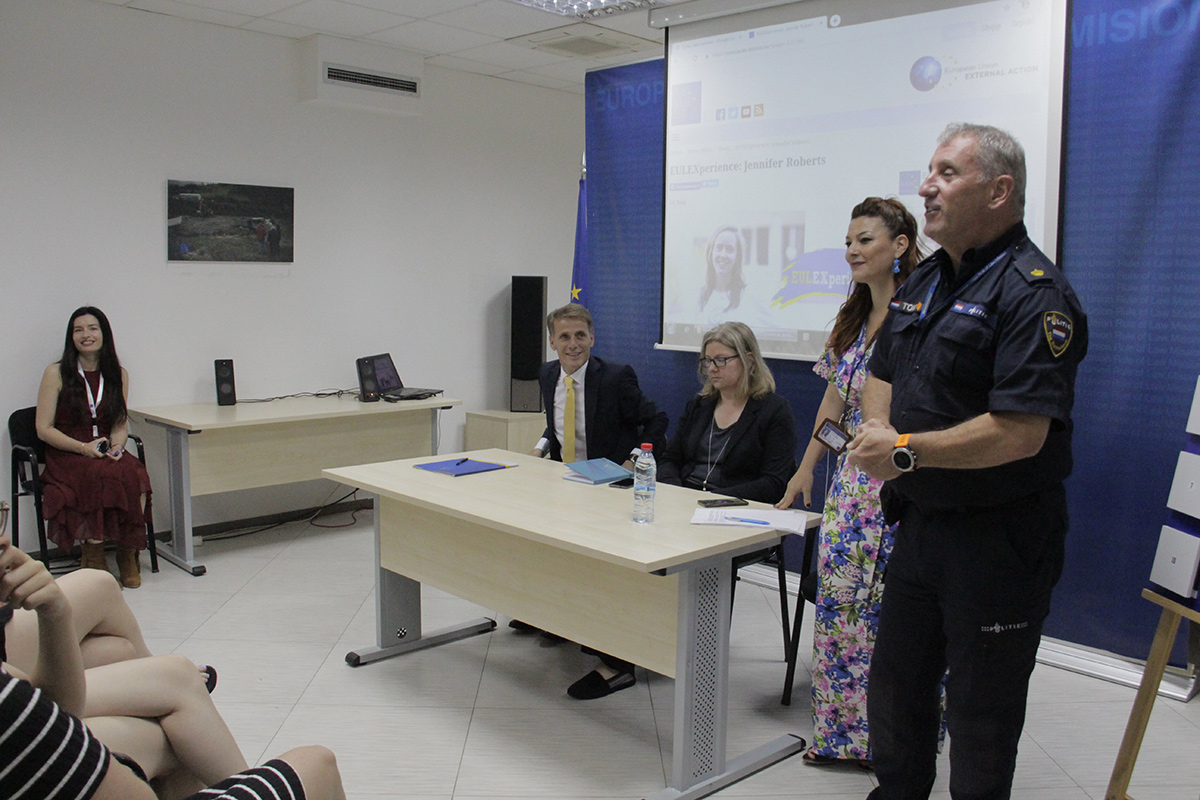 EULEX hosts University of Amsterdam students