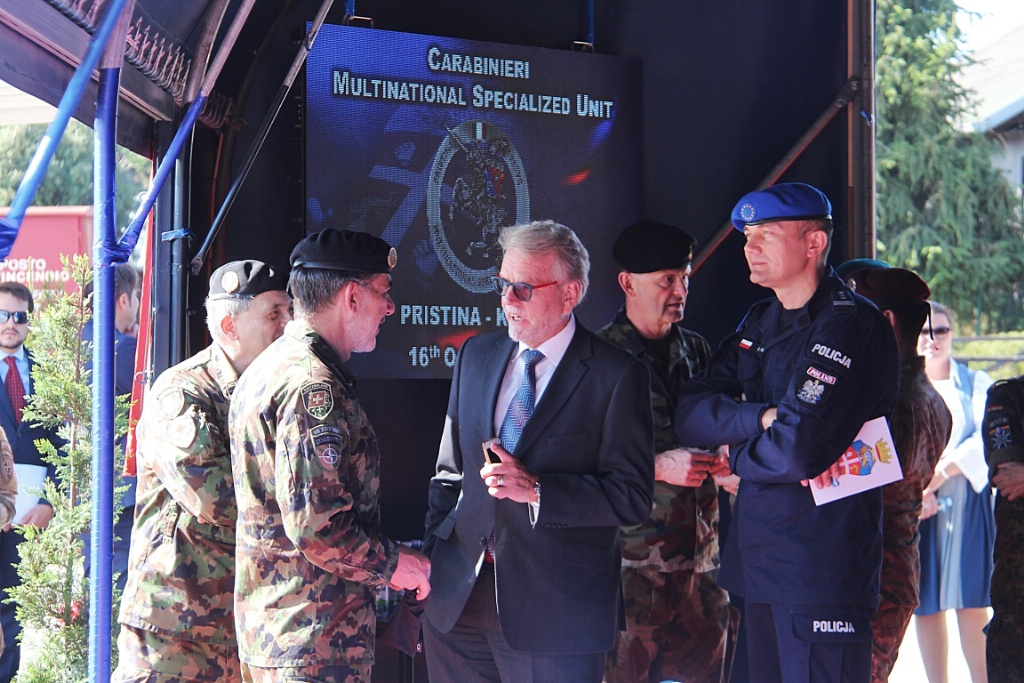 EULEX Acting Head of Mission Attends MSU Change of Command