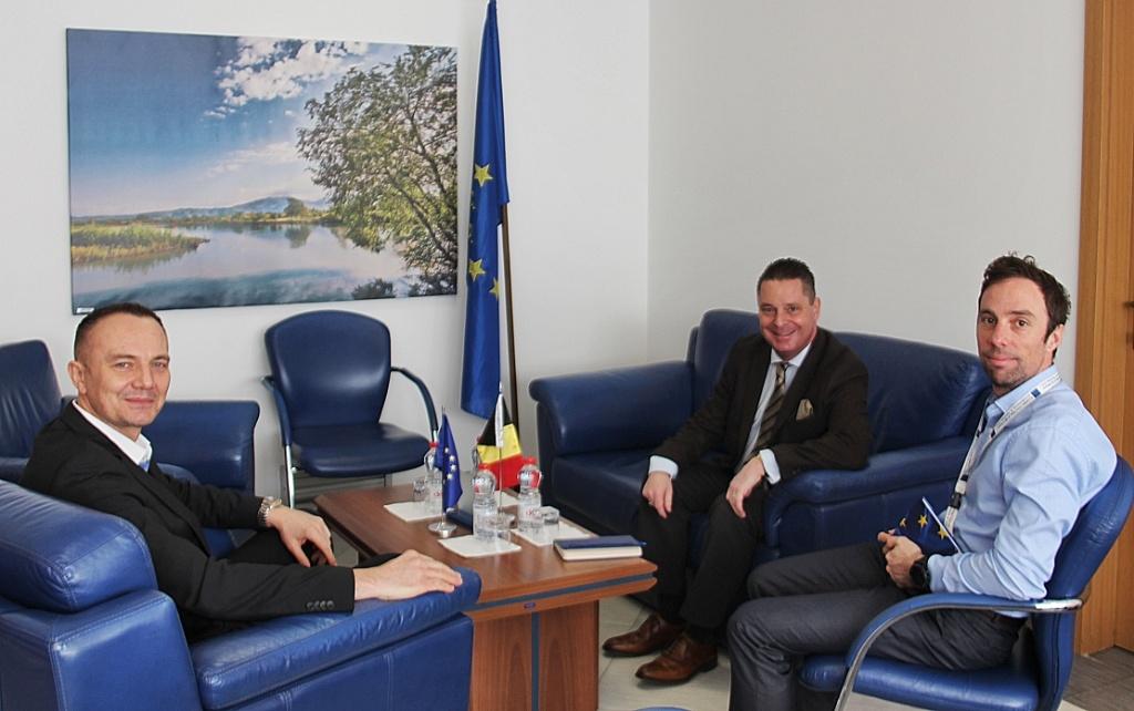Vršilac dužnosti šefa EULEX-a na sastanku sa belgijskim šefom misije