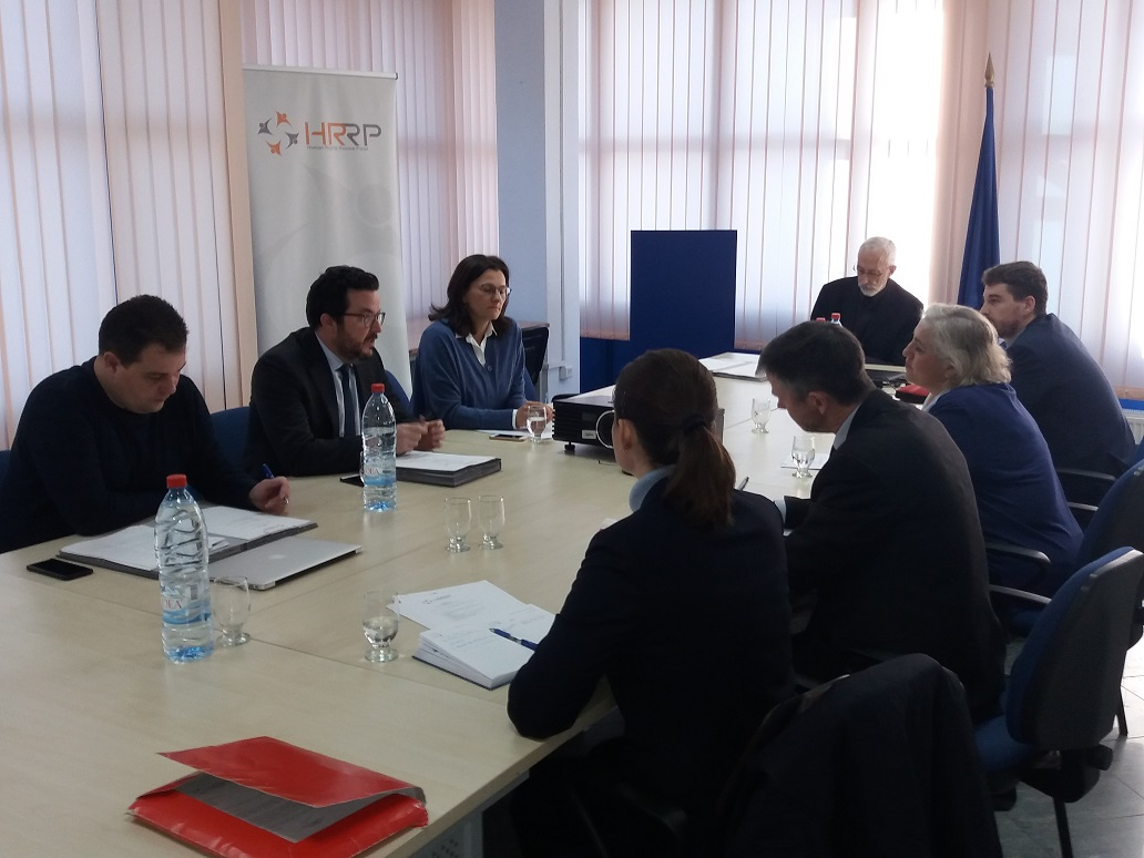 EULEX Head of Mission met with the Human Rights Review Panel