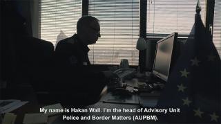 Një ditë nga jeta e Hakan Wall-it